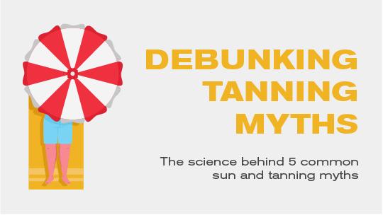 debunking tanning myths